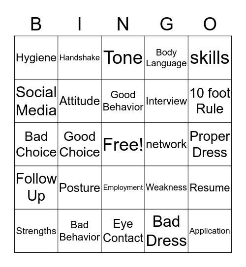 Are you ready??? Bingo Card