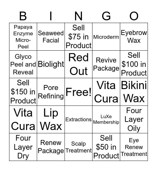 ESTI BINGO!  Bingo Card