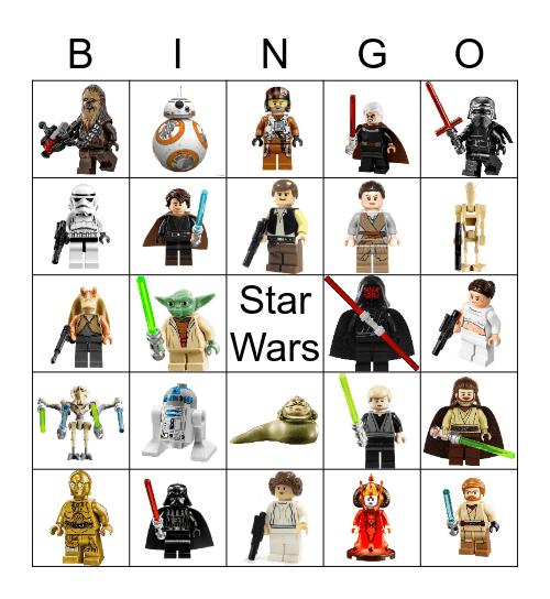 Lego Stars Wars Bingo Card