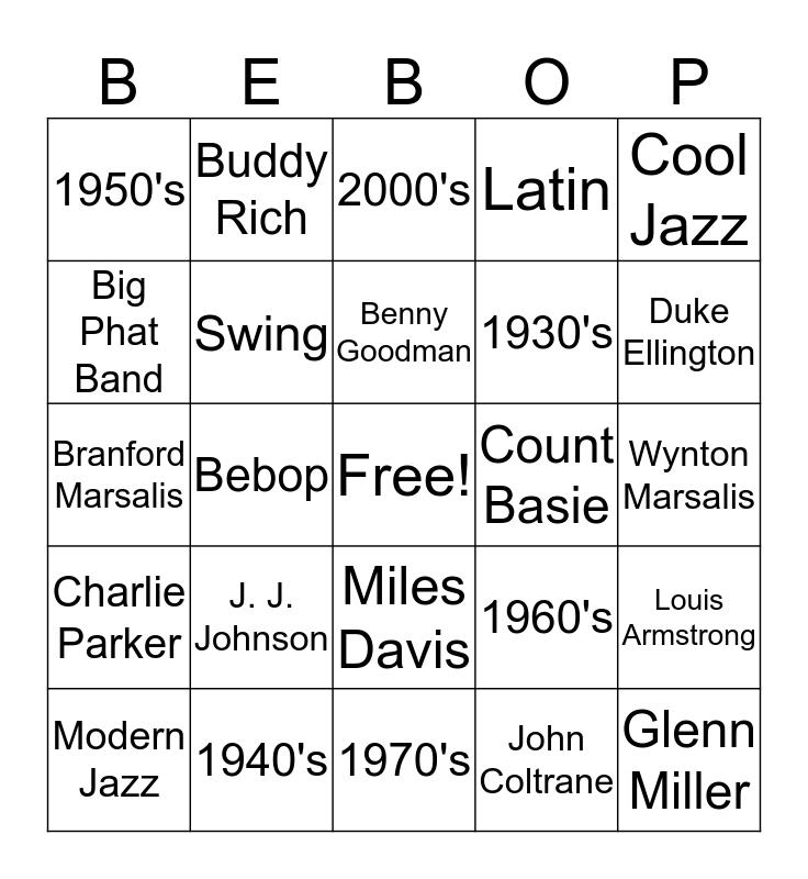 Bingo jazz