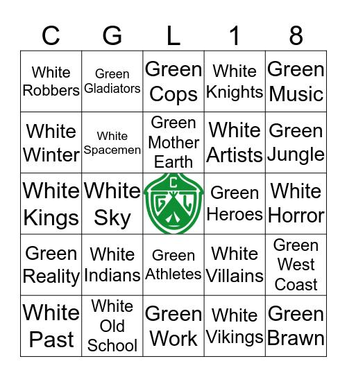 CGL SURVIVOR Bingo Card