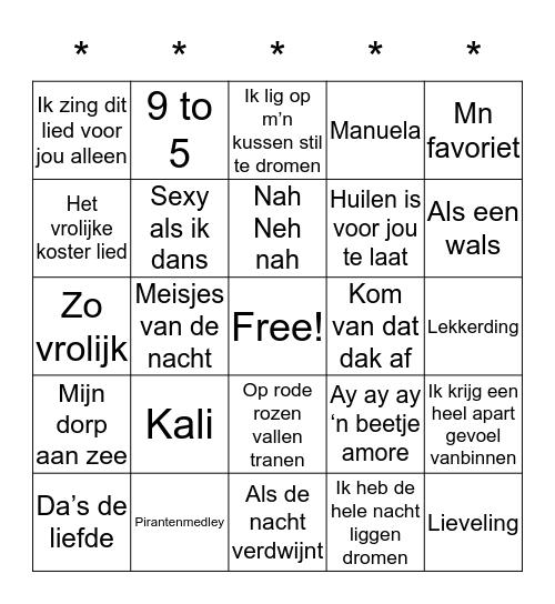 Breedveld-Swingo Bingo Card