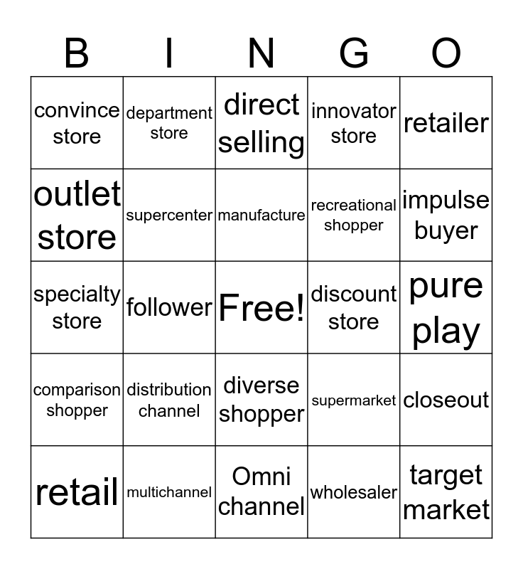 Jordan Hebert Bingo Card