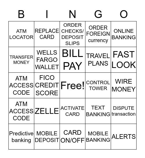 Digital BINGO Card