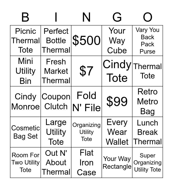 *********THIRTY ONE ********* Bingo Card