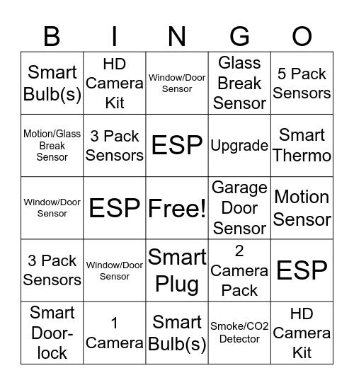 PACC BINGO  Bingo Card