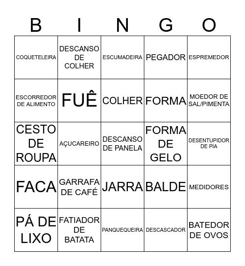 Chá da Dyu Bingo Card