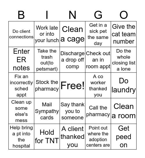 CSC 2  Bingo Card