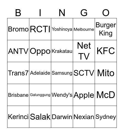 MYOUIxTZ Bingo Card