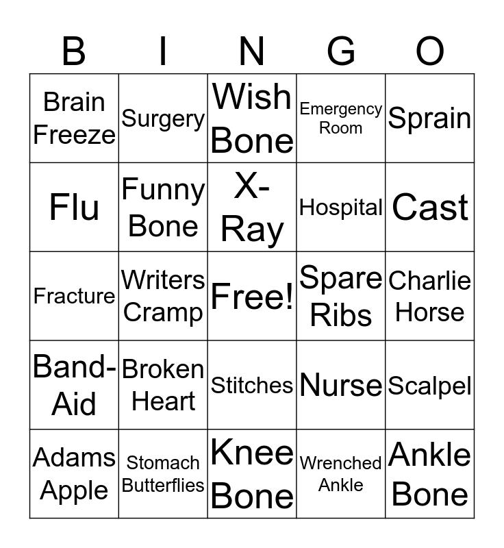 Operation BINGO Card