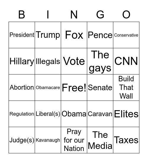 Founders Bingo Card