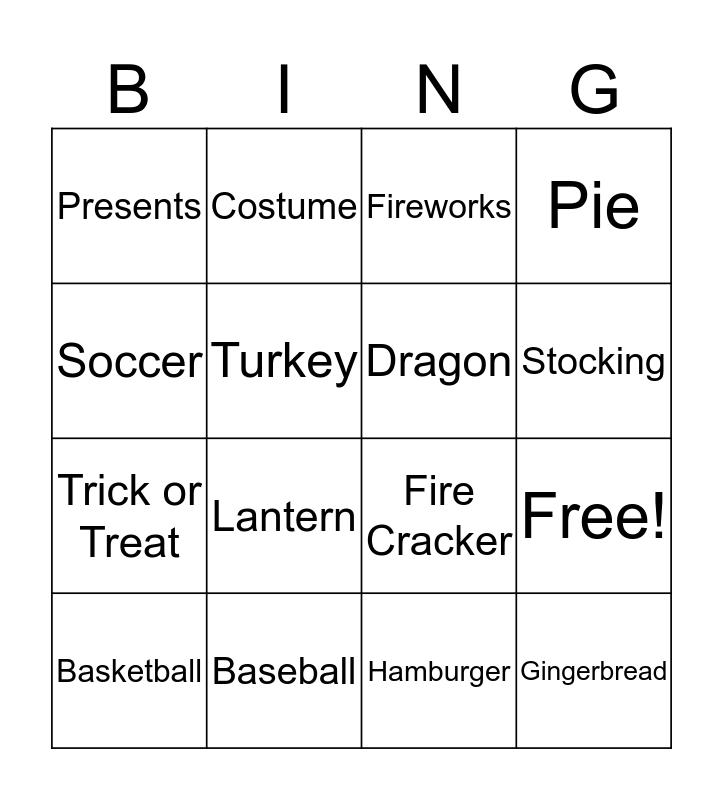 Culture Review Bingo Card