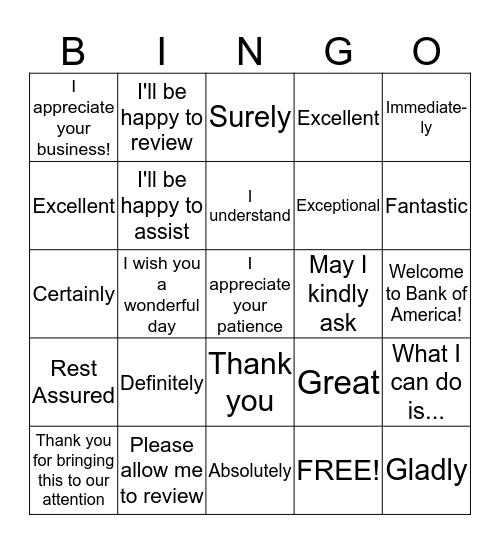 Delightful Words  Bingo Card
