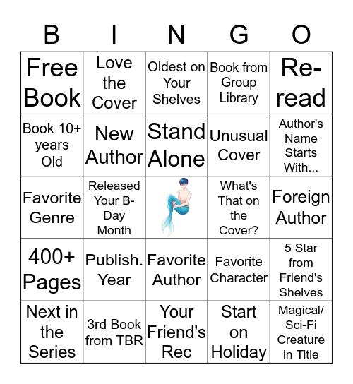 Fantasy/Sci-Fi Bingo Card