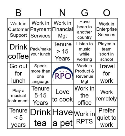 From Many, OneRPO Bingo Card