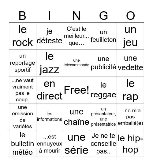 L3U2 Bingo Card
