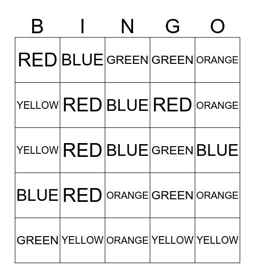 STRYKER FAMILY BINGO!  Bingo Card