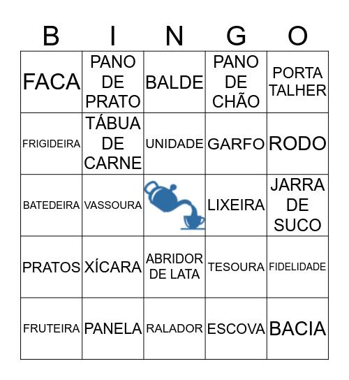 BINGO DE PANELA Bingo Card