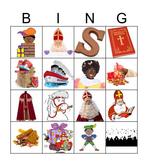 SINTERKLAAS  Bingo Card