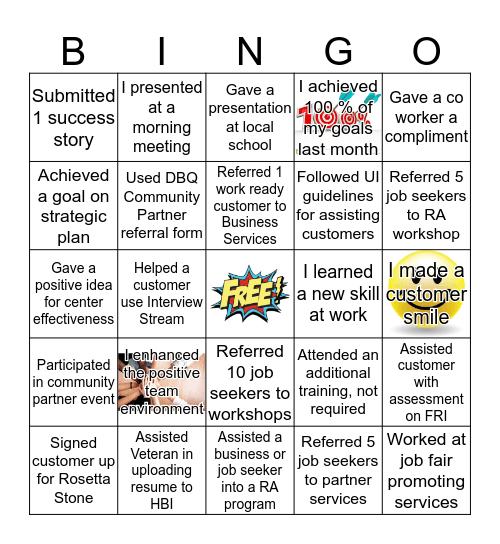 December Bingo Card