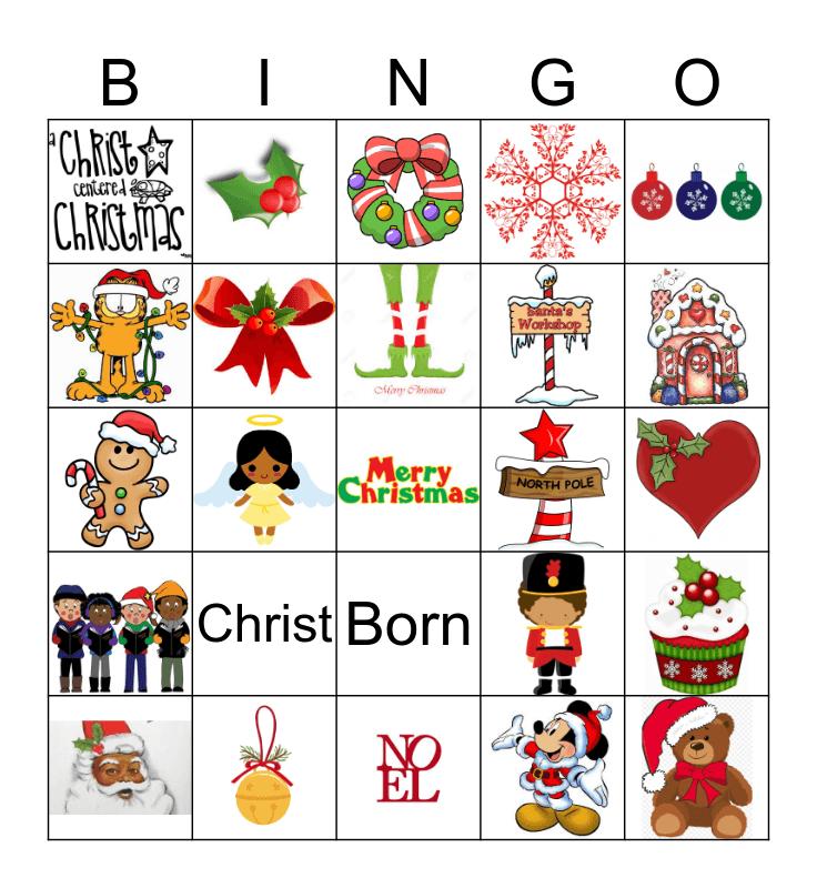 Christ is Christmas  Bingo Card