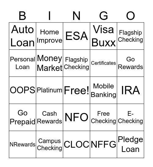 What am I? Bingo Card