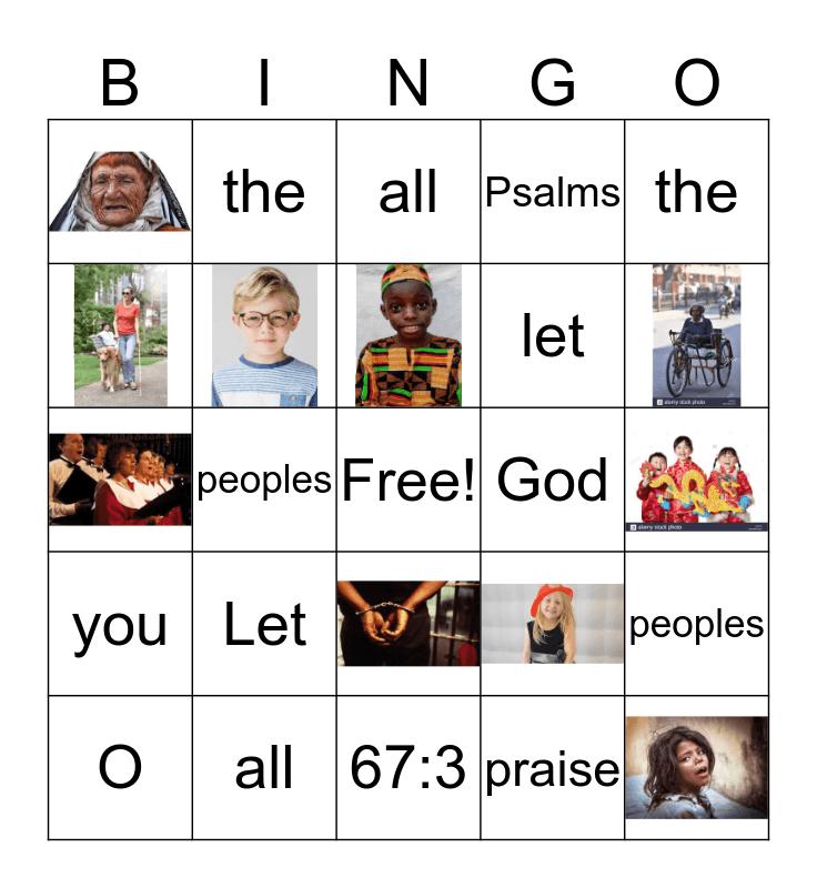 God LOVES all Bingo Card