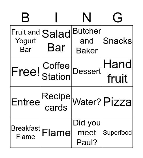 Meet Your Marketplace Bingo Card