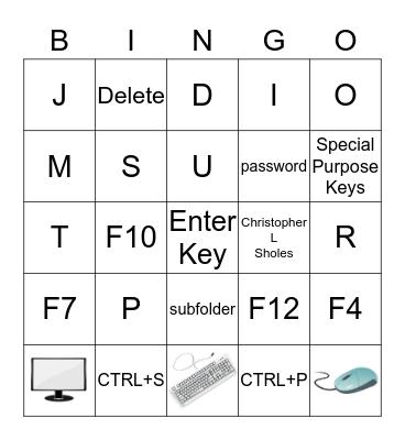 Computer Bingo Card