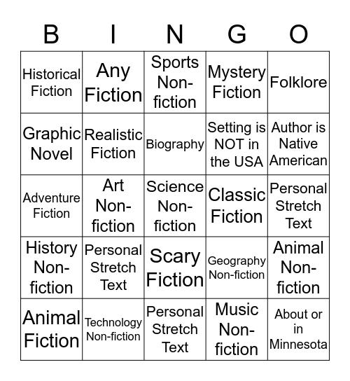 Qtr 3 Classroom Challenge: get 5 in-a-row Bingo Card