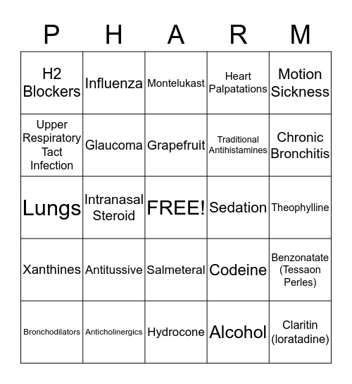 HAPPY NURSING Bingo Card