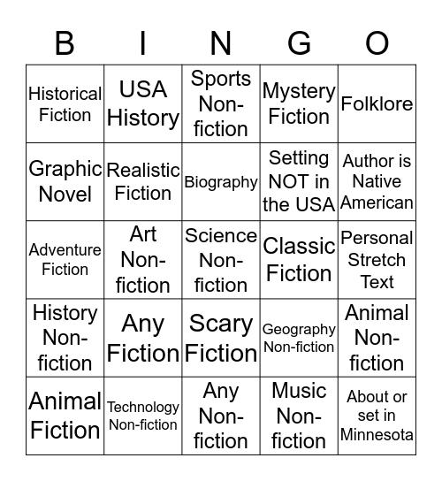 Qtr 3 Classroom Challenge Bingo Card