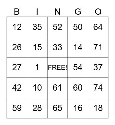 SUNDANCE HOSPITAL Bingo Card