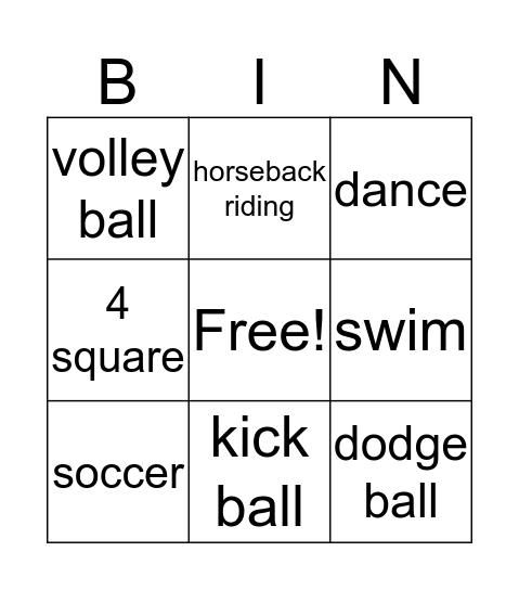 Mia Polo Reasor Bingo Card