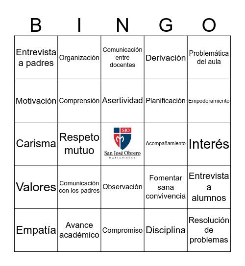 EQUIPO DE FORMACIÓN Bingo Card