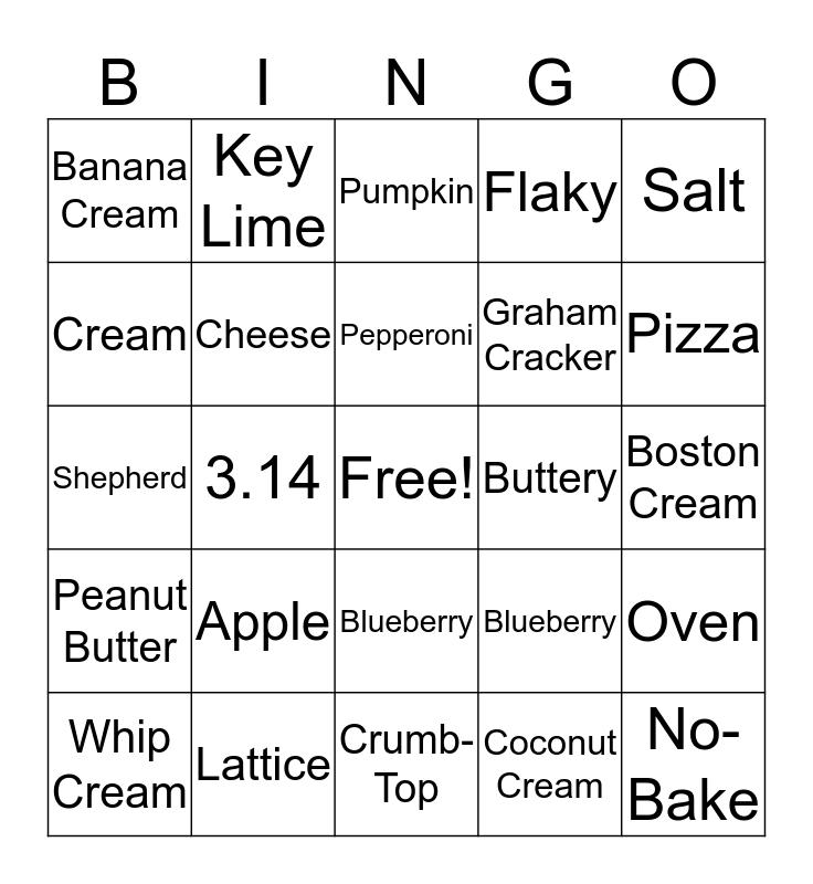 Pi-Day  Bingo Card