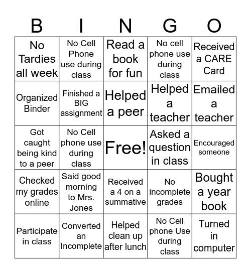 Awesome Gator  Bingo Card