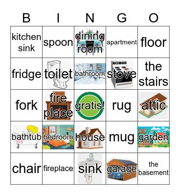 House Bingo Card