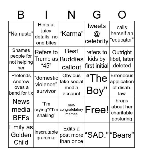 LBC Bingo Card