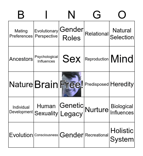 Bingo With Cody Bingo Card