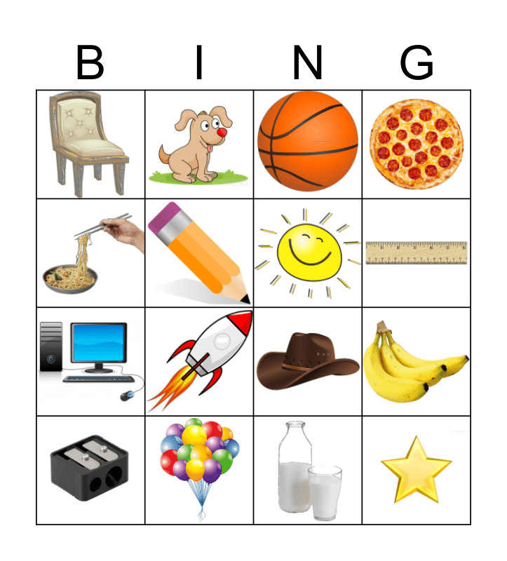 BB Bingo Card