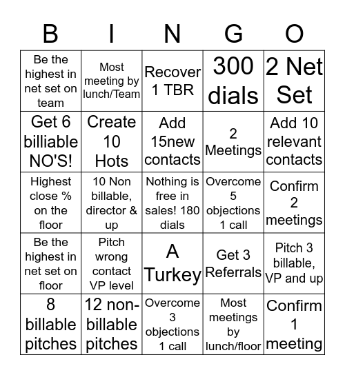 BAOingo! Bingo Card