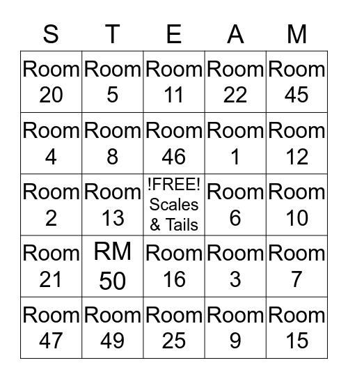 Horizon's Family Night Bingo Card