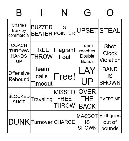 MARCH MADNESS! Bingo Card