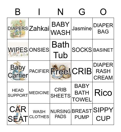 Welcoming Z A H K A I  Bingo Card