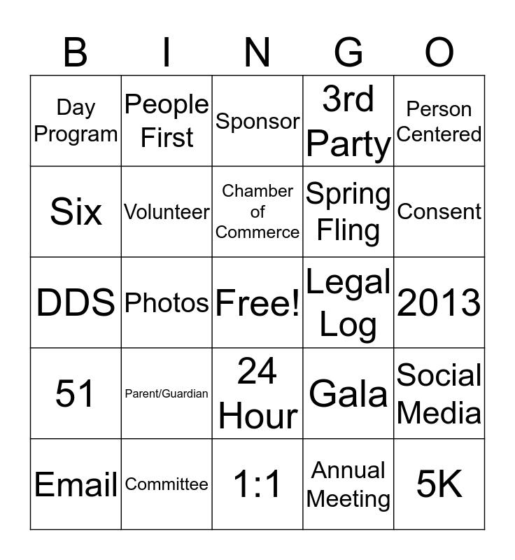 Journey Found Bingo Card