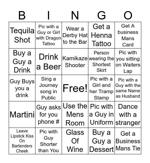 MGW - 5 Bingo Card