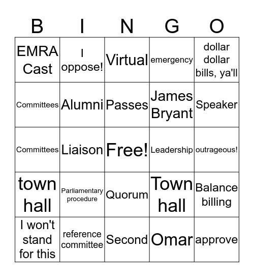 RepCo Bingo! Bingo Card