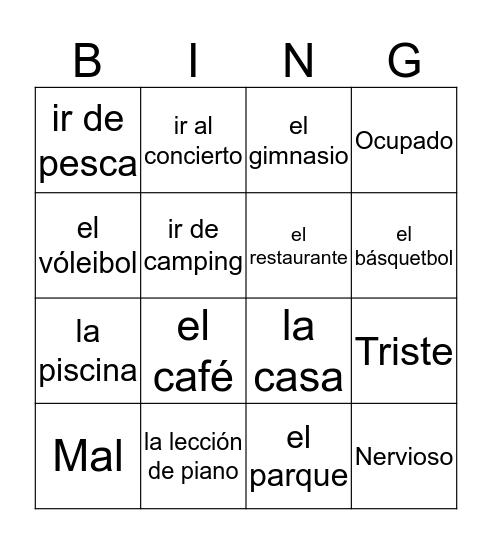 Milestone #6 Bingo Card