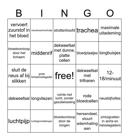 anfy, thema 8, vig Bingo Card